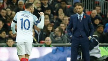 Kapten Timnas Inggris, Wayne Rooney.