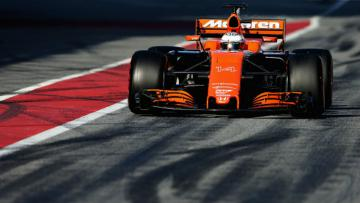 Pembalap McLaren F1, Fernando Alonso.