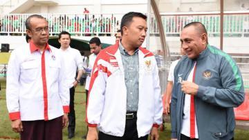 Menpora Imam Nahrawi minta kekalahan Timnas Indonesia harus dievaluasi total.