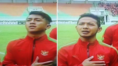 Febri Hariyadi dan Gian Zola, dua pemain Persib Bandung yang dipanggil memperkuat Timnas Indonesia U-22. - INDOSPORT