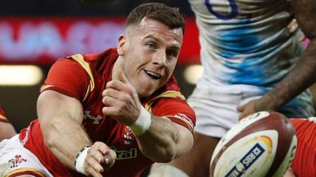 Gareth Davies, salah satu pemain Timnas Rugby Wales. - INDOSPORT