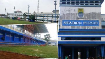 Stadion Persib (Sidolig) yang akan direnovasi.