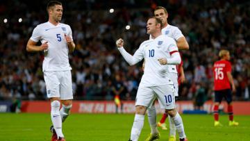 Wayne Rooney, Jordan Henderson, dan Gary Cahill