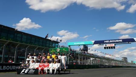 Pemandangan Sirkuit Albert Park pada balapan F1 musim 2016. - INDOSPORT