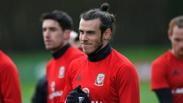 Bintang Timnas Wales, Gareth Bale.