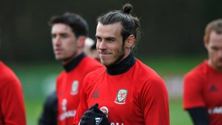 Bintang Timnas Wales, Gareth Bale. - INDOSPORT