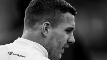 Pemain senior Timnas Jerman, Lukas Podolski.