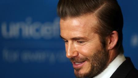 Mantan kapten Timnas Inggris, David Beckham. - INDOSPORT