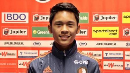 Yussa Nugraha kini kembali berseragam SC Feyenoord. - INDOSPORT