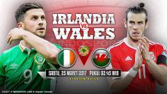 Indosport - Prediksi Irlandia vs Wales.