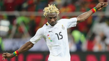 Pemain Timnas Ghana di Piala Dunia 2010, Isaac Vorsah. - INDOSPORT