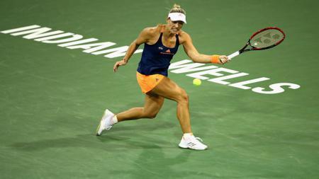 Angelique Kerber saat berlaga di ajang Indian Wells 2017. - INDOSPORT