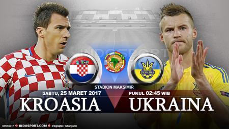 Prediksi Kroasia vs Ukraina. - INDOSPORT