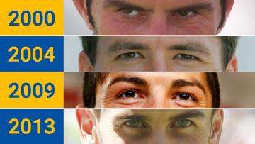 Illustrasi mata ikon Galactico tiap empat musim sekali.