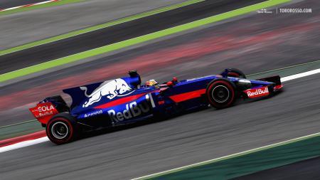 Tim Toro Rosso atau yang akan segera berganti nama menjadi Alpha Tauri akan segera memamerkan mobil Formula 1 (F1) 2020 mereka pada 14 Februari - INDOSPORT