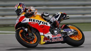 Dani Pedrosa berhasil menjadi pembalap ketiga tercepat saat sesi latihan bebas pertama MotoGP Qatar.