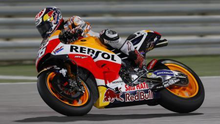 Dani Pedrosa berhasil menjadi pembalap ketiga tercepat saat sesi latihan bebas pertama MotoGP Qatar. - INDOSPORT