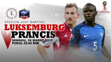 Luksemburg vs Prancis