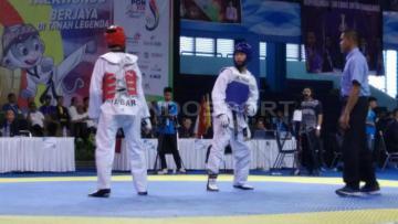 Olahraga taekwondo.