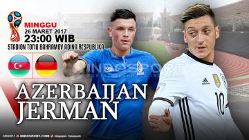 Prediksi Azerbaijan vs Jerman.