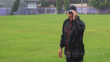 Pelatih Bali United FC, Hans Peter Scaller.