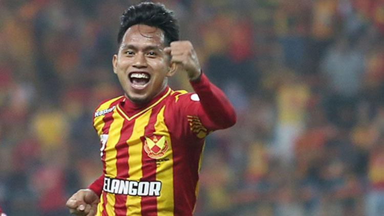 Selebrasi Andik Vermansah. Copyright: Selangor FA