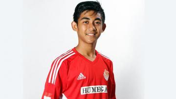 Gelandang Timnas U-22, Arsyad Yusgiantoro.