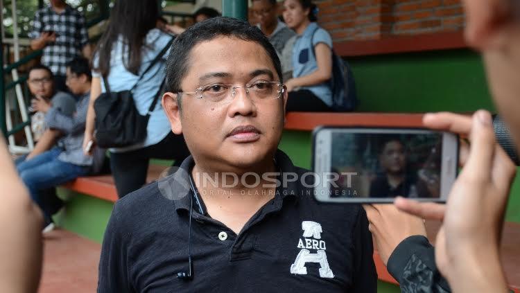 Manajer Timnas U-22, Endri Erawan. Copyright: Herry Ibrahim/INDOSPORT
