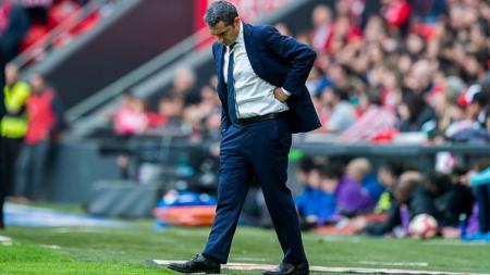 Valverde digosipkan dengan Barcelona. - INDOSPORT