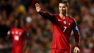 Megabintang Portugal, Cristiano Ronaldo.