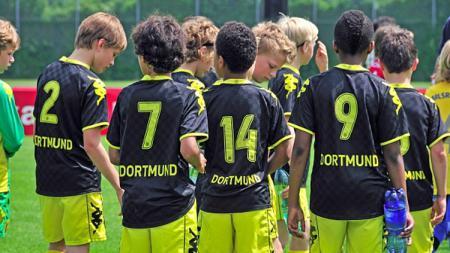 Tim muda Dortmund, calon bintang masa depan. - INDOSPORT