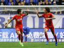 Pemain andalan Tianjin Quanjian, Alexandre Pato dan Axel Witsel.