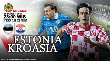 Prediksi Estonia vs Kroasia. - INDOSPORT