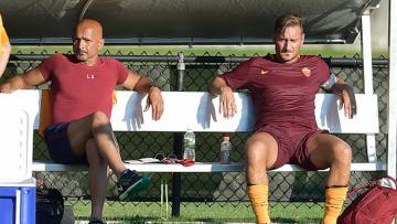 Spalletti dan Totti digosipkan tak akur.