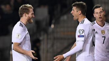 Jerman ungguli Azerbaijan 4-1 di babak kualifikasi Piala Dunia 2018 Grup C.