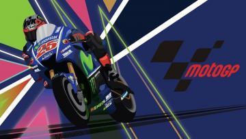 Maverick Vinales berhasil merebut podium pertama MotoGP Qatar 2017 di Sirkuit Losail