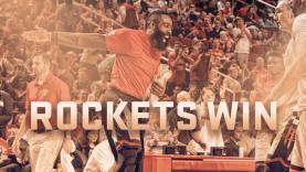 Houston Rockets berhasil mengalahkan Oklahoma City Thunder.