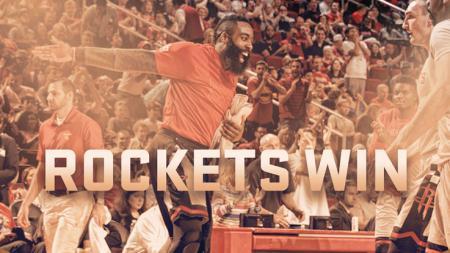 Houston Rockets berhasil mengalahkan Oklahoma City Thunder. - INDOSPORT