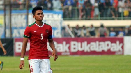 Pemain Timnas Indonesia, Bagas Adi Nugroho. - INDOSPORT