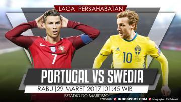 Prediksi Portugal vs Swedia.