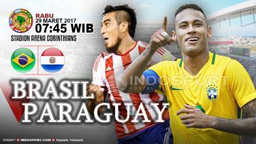 Prediksi Brasil vs Paraguay.