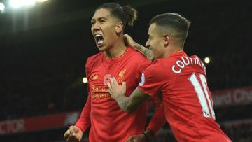 Dua Bintang Liverpool, Roberto Firmino dan Philippe Coutinho diragukan tampil dalam Derby Merseyside.