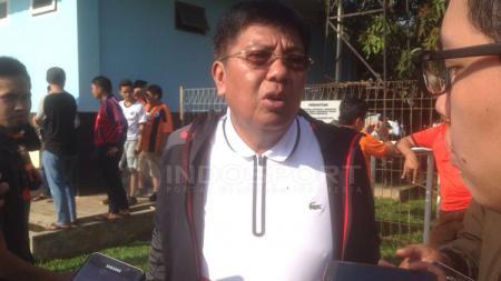 Gede Widiade, eks Direktur Utama Persija Jakarta. - INDOSPORT