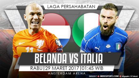 Belanda vs Italia. - INDOSPORT