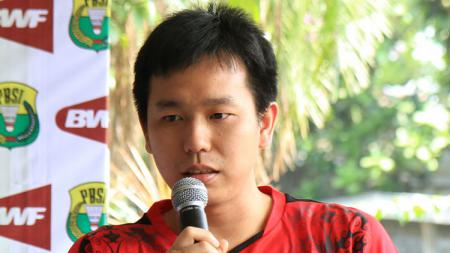 Atlet bulutangkis senior Indonesia, Hendra Setiawan. - INDOSPORT