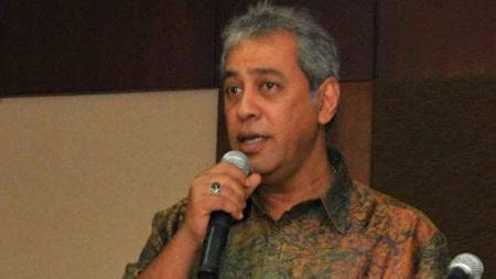 Presiden Klub PSMS Medan, Kodrat Shah. - INDOSPORT