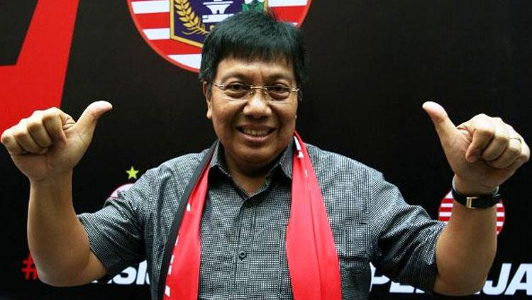 Direktur Persija Jakarta, Gede Widiade. Copyright: fokusbola.com