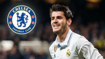 Striker Real Madrid, Alvaro Morata.