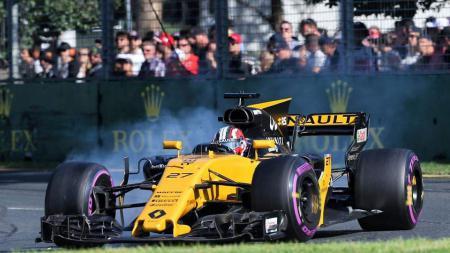 Nico Hulkenberg, pembalap F1 dari tim Renault. - INDOSPORT