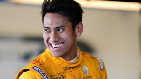 Pembalap muda Indonesia, Sean Gelael. - INDOSPORT